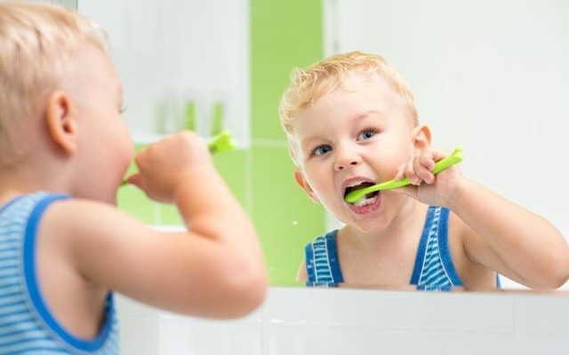 Benefits of Fluoride for kids!