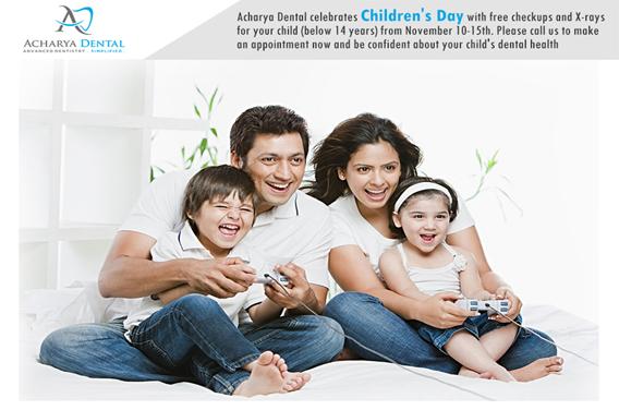 Children's Day Offer at Acharya Dental