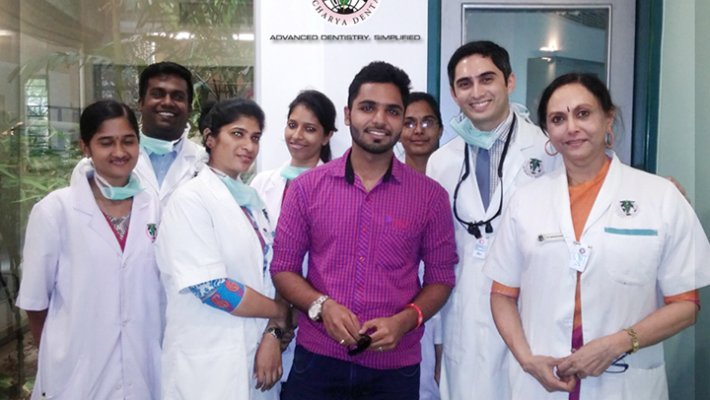 Selfie Contest at Acharya Dental