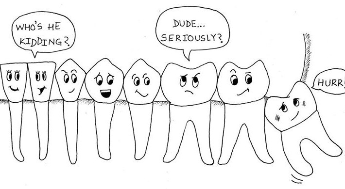 Signs of developing a Wisdom tooth